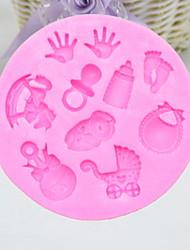 abordables -2pcs Silicone Creative Kitchen Gadget Pour Ustensiles de cuisine Outils de desserts Outils de cuisson