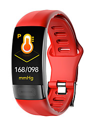 cheap -p11 Unisex Smart Bracelet Smartwatch Android iOS Bluetooth Waterproof Touch Screen Heart Rate Monitor Blood Pressure Measurement Sports ECGPPG Timer Pedometer Call Reminder Activity Tracker