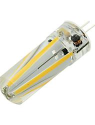 Недорогие -1шт 4 W Двухштырьковые LED лампы 300 lm G4 T 4 Светодиодные бусины COB Декоративная Новогоднее украшение для свадьбы Тёплый белый Холодный белый 12 V / RoHs