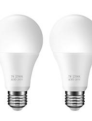 cheap -2PCS A60 Light Sensor Bulb LED Intelligent Lighting 7W E26/E27 Automatically Turn on/off AC85-265V