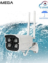 cheap -INQMEGA Outdoor IP Camera Wifi Wireless 720P PTZ CMOS Waterproof Night Vision Security Camera - China all Plug 3.6mm Two-Way Audio IR-cut Remote Access Surveillance Cameras