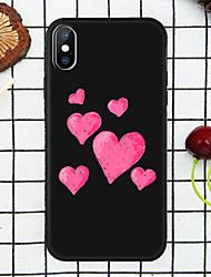 Недорогие -мультфильм любовь сердца чехол для Apple iPhone Iphone х / х с / хр / хс макс / 7p / 8p / 6p / 8/7/6