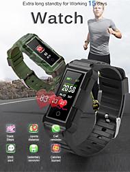 Недорогие -Indear DX800/SF115 Универсальные Умный браслет Android iOS Bluetooth Smart Спорт Водонепроницаемый Пульсомер Измерение кровяного давления / Датчик для отслеживания активности / Датчик частоты пульса