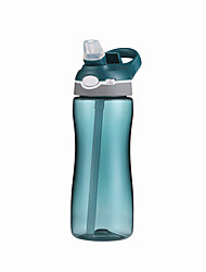 cheap -Sports Water Bottle 580 ml PP Insulated Durable Ultra Light (UL) for Hiking Cycling / Bike Camping Green Purple Blue Pink