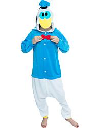 cheap -More Costumes Party Costume Kigurumi Pajamas Men's Pajamas Halloween Halloween Oktoberfest Festival / Holiday Plush Fabric Blue Carnival Costumes Animal