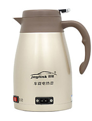 cheap -1.2L Stainless steel Car Electric Kettle Low Noise/User-friendly design/Overheat Protection/Portable Electric Kettle