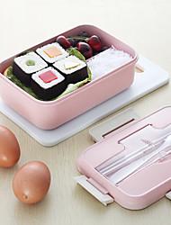 Недорогие -микроволновая коробка для завтрака пшеничная солома столовая посуда