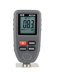 cheap -RZ Thickness Gauges Paint Coating Thickness Gauge Car Digital Thickness Gauges Tester RZ230 With Backlight Film Thickness Gauge