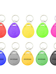 cheap -5YOA 100KeyTK4100 RFID Keyfobs Home / Apartment / School