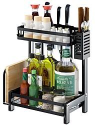 Недорогие -Высокое качество с Пластик Полки и держатели Повседневное использование Кухня Место хранения 2 pcs
