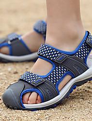 cheap -Boys' Comfort Denim Sandals Little Kids(4-7ys) / Big Kids(7years +) Gray / Green / Blue Summer / Fall / Color Block / Rubber