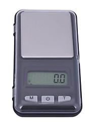 abordables -500g/0.1 Haute Définition Portable Arrêt automatique Échelle de bijoux numérique Pour bureau & enseignement La vie à la maison Cuisine quotidienne