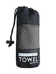 Недорогие -Полотенце для йоги Спорт удобный Очень мягкий Полиэстер для Бег Велоспорт 40*80 cm Серый Розовый с красным Синий