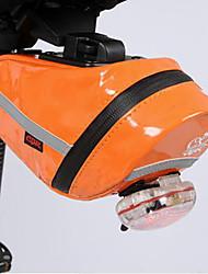 cheap -Bike Saddle Bag Waterproof Portable Rain Waterproof Bike Bag PU(Polyurethane) Bicycle Bag Cycle Bag Cycling Outdoor Exercise Bike / Bicycle