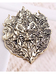 cheap -Game of Thrones Brooches Dainty Halloween Alloy Holiday Jewelry For Masquerade Party / Cocktail Halloween Carnival Men's Women's Costume Jewelry Fashion Jewelry