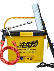 Недорогие -32л мойщик автомобилей 12 В электрический портативный водяной насос многофункциональный автомойка автомойка водяной пистолет