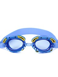 cheap -Swimming Goggles Waterproof Anti-Fog Swimming Resin Yellows Reds Blues Transparent