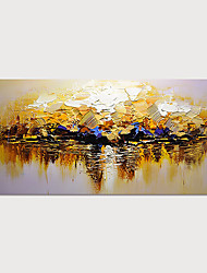 cheap -Hand Painted Canvas Oil Painting Abstract Landscape Home Decoration Without Frame Painting Only