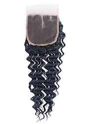 cheap -1 Bundle Brazilian Hair Deep Wave 100% Remy Hair Weave Bundles Natural Color Hair Weaves / Hair Bulk Human Hair Extensions 8-20inch Natural Color Human Hair Weaves Newborn Waterfall Cute Human Hair