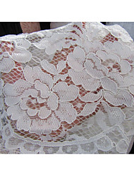 cheap -Lace Solid Inelastic 145 cm width fabric for Apparel and Fashion sold by the Meter