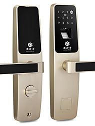cheap -HOLISHI® D3633F Door Lock Smart Lock Combination Lock Fingerprint Lock Smart Home Security System Suit for Left Door Right Door
