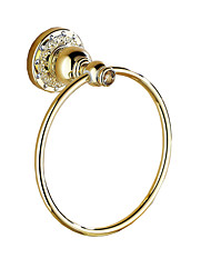 cheap -Towel Bar Multifunction Antique Brass 1pc - Bathroom towel ring Wall Mounted