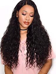 cheap -4 Bundles Brazilian Hair Water Wave Remy Human Hair Natural Color Hair Weaves / Hair Bulk Bundle Hair Human Hair Extensions 8-28inch Natural Color Human Hair Weaves Cute Safety Fashionable Design