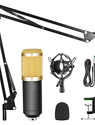 cheap -9 Pcs a Set Condenser Microphone BM 800 Professional Kit With Shock Mount
