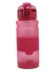 cheap -Water Bottle 1000 ml PP Portable for Camping / Hiking / Caving Traveling Green Grey Orange Blue Pink