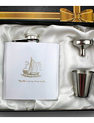 cheap -Personalized Stainless Steel / Iron Barware & Flasks Groom / Groomsman Holiday / Wedding Party