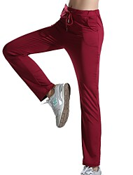 cheap -Women's Daily Sports Chinos / Sweatpants Pants - Solid Colored Spring Summer Fall Purple Wine Army Green M L XL