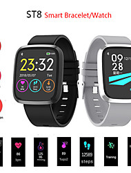 cheap -ST8 Smartwatch Bluetooth Fitness Tracker Support Notify/ Blood Pressure Measurement Sports Smart watch for Samsung/ Iphone/ Android Phones