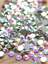 cheap -1 pcs Classic / High Transparency Crystal Nail Jewelry For Finger Nail Jewelry Series nail art Manicure Pedicure Daily / Festival Fashion / Colorful