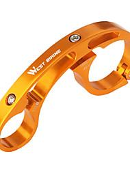 cheap -Bike Handlebar Extender Durable Easy to Install for Road Bike Mountain Bike MTB Aluminum Alloy Silver Orange Red