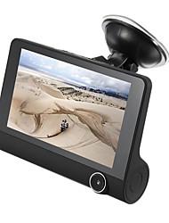 Недорогие -1080p HD Автомобильный видеорегистратор 170° Широкий угол 4 дюймовый IPS Капюшон с GPS / Ночное видение / G-Sensor Автомобильный рекордер