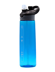 cheap -Sports Water Bottle Water Bottle 709 ml PP Durable for Camping / Hiking Cycling / Bike Traveling Black Violet Fuchsia Blue