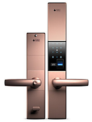 cheap -HOLISHI® D1217F Smart Lock Combination Lock Fingerprint Lock Smart Home Security System Suit for Left Door Right Door