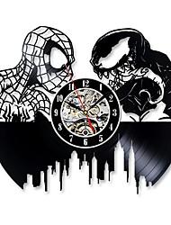 Недорогие -настенные часы паук и яд виниловые пластинки настенные часы