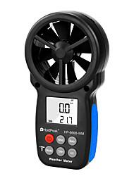 Недорогие -анемометр holdpeak hp-866b-wm измеритель скорости ветра цифровая чашка датчика anemometro 30 м / с жк-инструмент ручной измеритель влажности воздуха