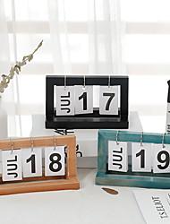 Недорогие -Декоративные объекты, 120 гр / м2 полиэфирная эластичная ткань Дерево Железо Современный современный для Украшение дома Дары 1шт