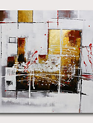 cheap -Hand painted Stretched Oil Painting Canvas Ready To Hang Abstract Style