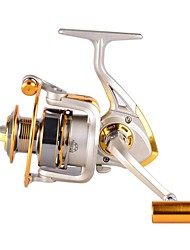 cheap -Fishing Reel Spinning Reel 5.2:1  4.9:1 Gear Ratio+11 Ball Bearings Hand Orientation Exchangable Sea Fishing / Spinning / Freshwater Fishing