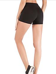 Недорогие -Жен. Штаны для йоги Сплошной цвет Фитнес Шорты Спортивная одежда Дышащий Для тренировки Power Flex Эластичная Обтягивающие
