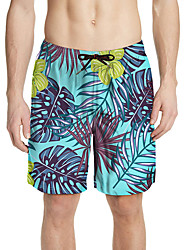 cheap -Aloha Hula Dancer Adults' Men's Women's Casual Beach Style Pants Hawaiian Costumes Luau Costumes For Vacation Casual / Daily Polyster Shorts