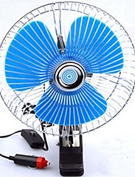 cheap -Portable Car Fan Large amount of wind Low Noise Fan 5GHz Cigarette Lighter Plug 12V
