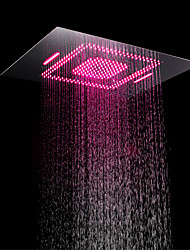 cheap -Contemporary Rain Shower Chrome Feature - LED / Shower, Shower Head