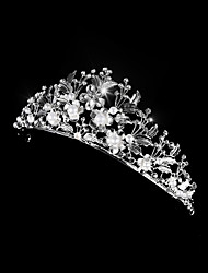 cheap -Women's Ladies For Homecoming Royalty Crystal Alloy Silver