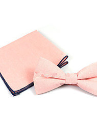 cheap -Men's Basic Bow Tie - Solid Colored