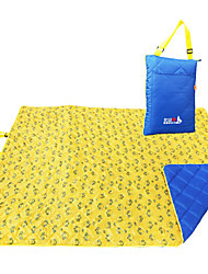 cheap -BSwolf Picnic Blanket Tent Tarps Outdoor Camping Lightweight Moistureproof Thick Oxford Cloth 200*145 cm Camping / Hiking / Caving for 3 - 4 person Blue