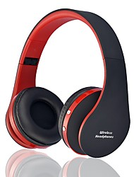 cheap -LITBest BT-82 Over-ear Headphone Wireless Bluetooth 4.2 with Microphone with Volume Control Travel Entertainment